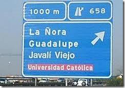 CARRETERA LA ÑORA