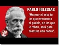 IGLESIAS PSOE